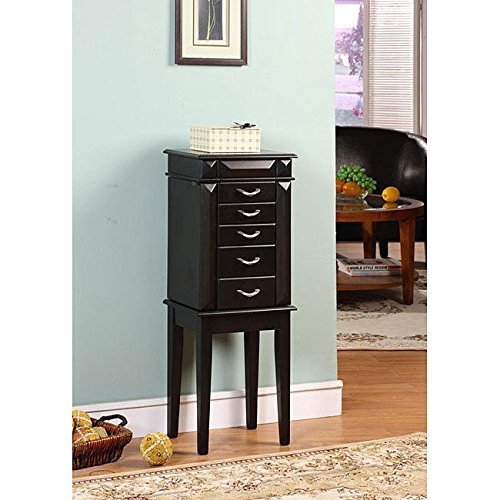 ack 5-drawer Jewelry Armoire ()