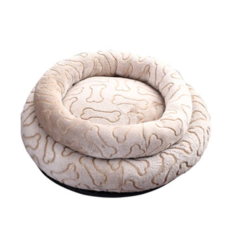 We'R Home Cats Dogs Bed,Anti-Slip & Water-Resistant Bottom, Soft Super Durable and Easy to Clean, for Cats and Dogs Or Other Small Animals,S