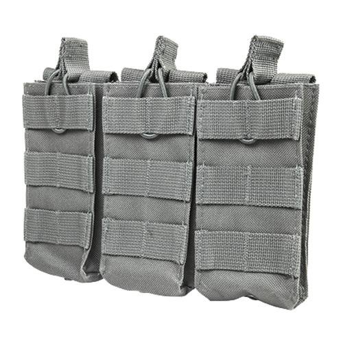 NC Star AR Triple Mag Pouch, Urban Gray