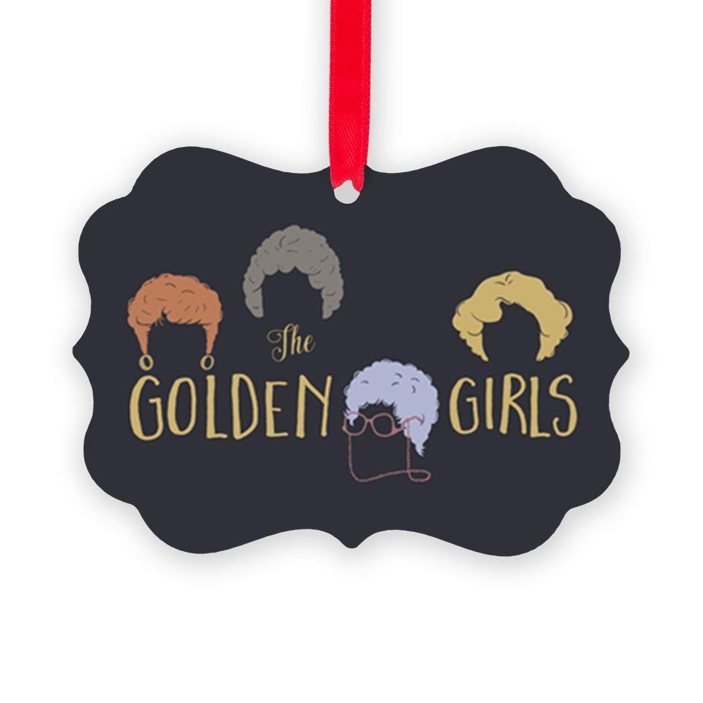 CafePress - Golden Girls Minimalist Ornament - Christmas Ornament, Decorative Tree Ornament