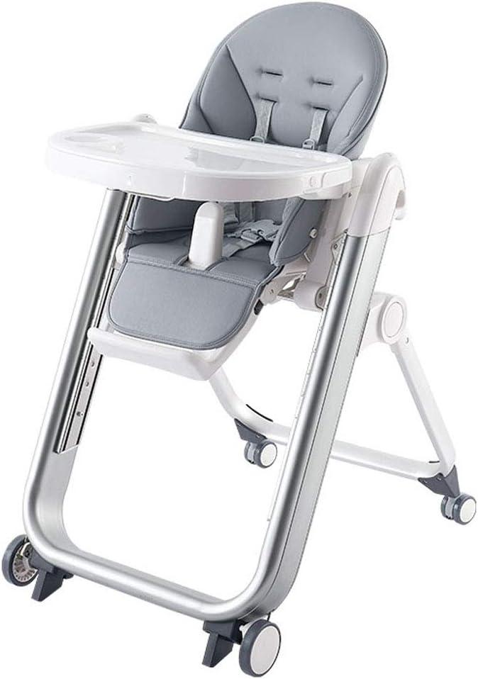調整可能 生まれたばかりのアタッチメント付きのハイチェア、高さ調節可能な成長に沿った椅子折りたたみ式ベビーチェア 幼児