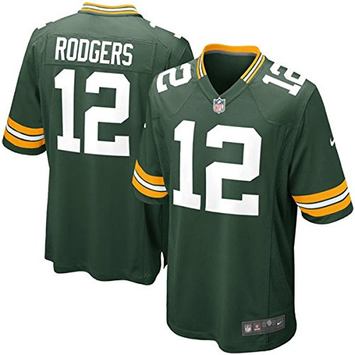 Nike NFL Green Bay Packers Aaron Rodgers Youth On-Field Jersey Size ()