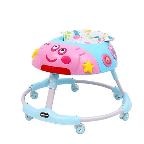LJXWYQ Andador para bebé,con luz y música,Evite vuelcos ...