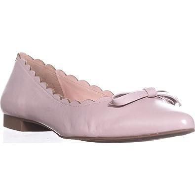aa7ca8de2 Amazon.com: Kate Spade New York Women's Eleni Flats, Pale Pink, 9.5 ...
