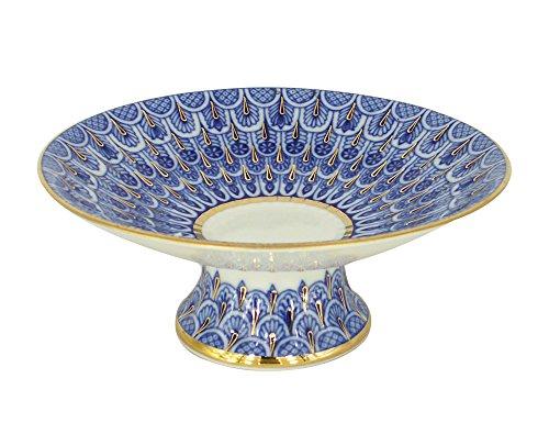 Not Porcelain - Cake Vase Forget me Not