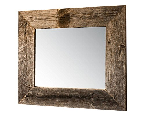 Drakestone Designs Mirror with Barnwood Frame | Wall Mount | Handmade Rustic -