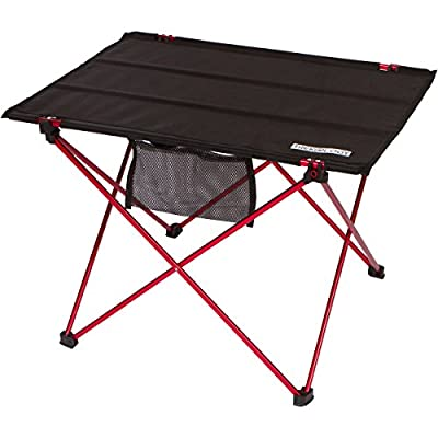 Trekology Foldable Camping Picnic Tables - Portable Compact Lightweight Folding Roll-up Table in a Bag – Small, Light, and Easy to Carry for Camp, Beach, Outdoor