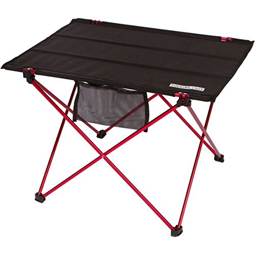 Trekology foldable camping picnic tables portable compact lightweight folding roll up table in - Small lightweight folding table ...