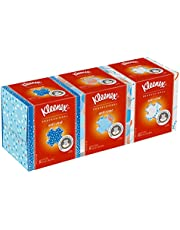 Kleenex Professional Anti-Viral Facial Tissue Cube for Business (21286), White, 3 Boxes/Bundle,(Packaging may vary)