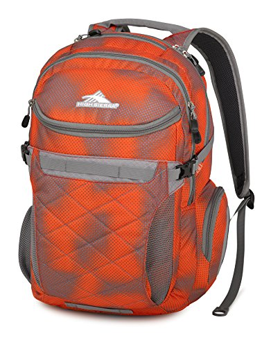 High Sierra Broghan Backpack, Hyper Dots/Charcoal