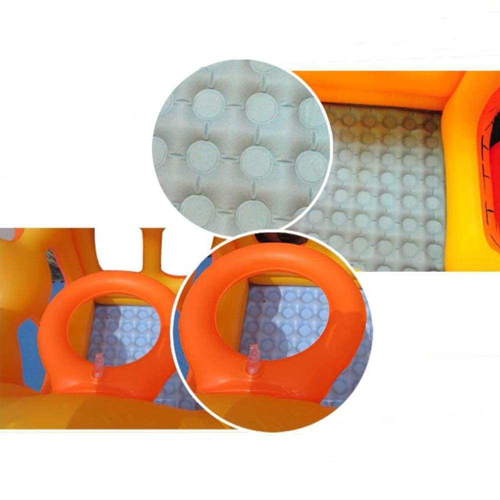CWLLWC Bañera de plástico Plegable Piscina Inflable Piscina ...