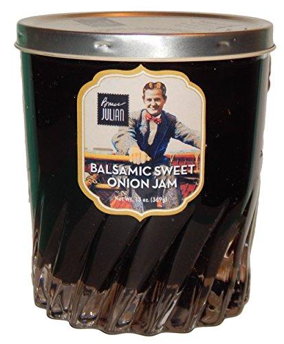 Vidalia Jelly (Bruce Julian Heritage Foods Balsamic Sweet Onion Jam Preserved in Collectible Drinkware - 13 Oz)