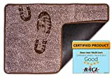 BRICOVEO Welcome Doormat Front Entry –Mud Indoor Door mat 18x28 inch – Ultra Absorbent Door mat – Thin Doormat with Non Slip PVC Backing – Easy Clean – Ideal for Home Entrance, Garage, Office