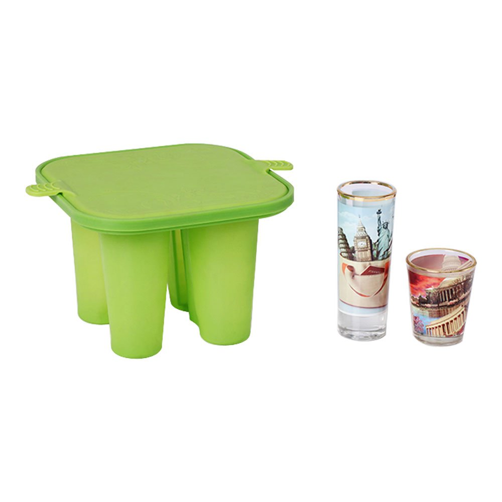 3D Sublimation Silicone Mug Mold Clamps for Short Glass Wine Bottle Heat Transfer Printing Silicone Mold 3D Sublimation Mug Clamp