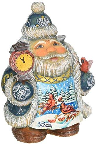 Derevo Collection (G. Debrekht Illustrated Santa with Red Cardinals)
