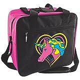 Bowlerstore Unicorn Single Ball Bowling Bag- Pink