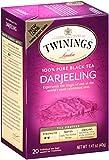 Twinings of London Darjeeling Tea, 20 Count (Pack of 6)