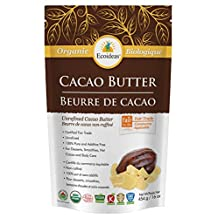 Ecoideas Organic Ft Cacao Butter, 454g
