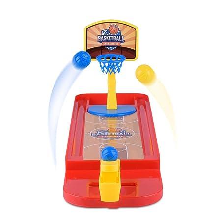Oce180anYLV Juego de Mesa Creativo de Mini-Dedo de Baloncesto de ...