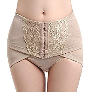 Zooarts 2019 Pelvic Posture Correction Belt Hip-Up Postpartum Recovery Band (Black, L) 28