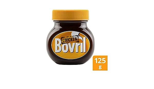 Bovril Extracto De Pollo 125G - Paquete de 4: Amazon.es: Alimentación y bebidas
