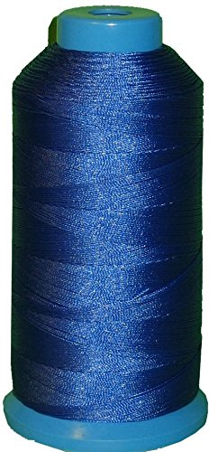 Item4ever® Royal blue Bonded Nylon Sewing Thread #207 T210 1000 Yard for Outdoor, Leather, Upholstery