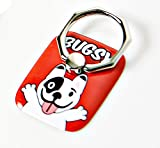 SJ Siwon's pet dog Bugsy easy grip Smartphone finger ring (Red)