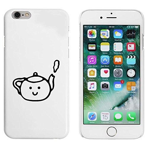 Weiß 'Teekanne' Hülle für iPhone 6 u. 6s (MC00087055)