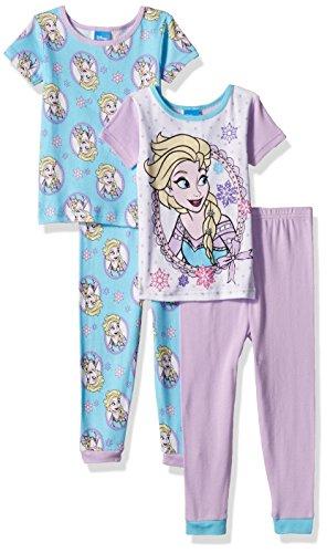 Disney Frozen 4 Piece Cotton Pajama