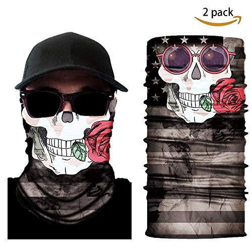 Wolf Warriors Skull Face Mask 2 Pack