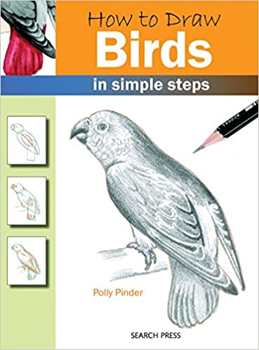 Search Press Books How To Draw Birds Polly Pinder 9781844483549