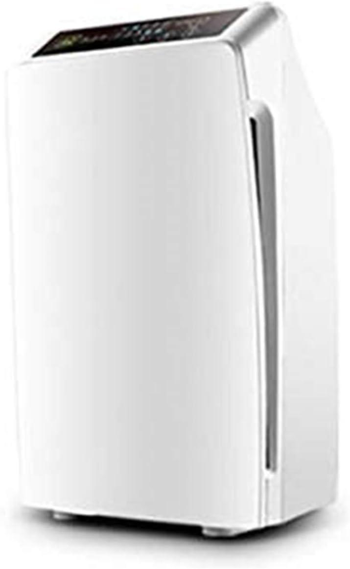 Purificateur d'air, purificateur d'ions négatifs intelligent, dissolvant d'allergies aux odeurs allergènes, bouton tactile d'affichage à LED, fonction de synchronisation, peut être placé à l'intérieur