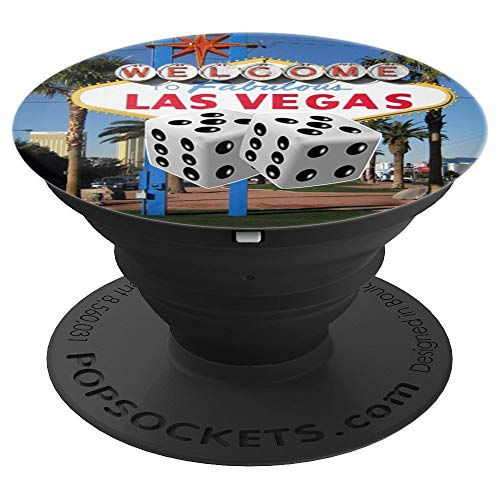 Las Vegas Dice Shirt - Party in Las Vegas Lucky Sin City  PopSockets Grip and Stand for Phones and Tablets