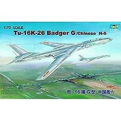 Trumpeter 1/72 01612 Tu-16K-26 Badger G/Chinese H-6