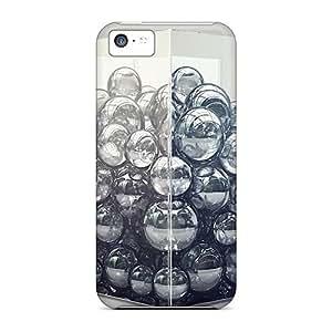 New Tpu Hard Case Premium Iphone 5c Skin Case Cover(bubbles In A Cube 135)