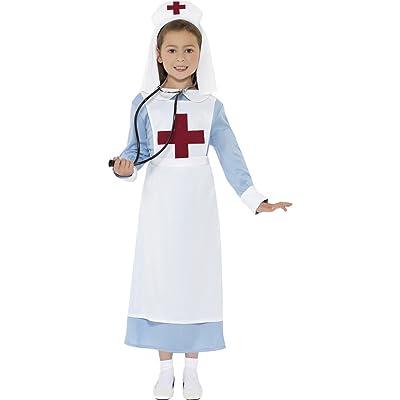 Smiffys Children's WW1 Nurse Costume: Toys & Games