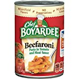 Chef Boyardee Beefaroni, Macaroni with Beef in Tomato Sauce, 15 oz