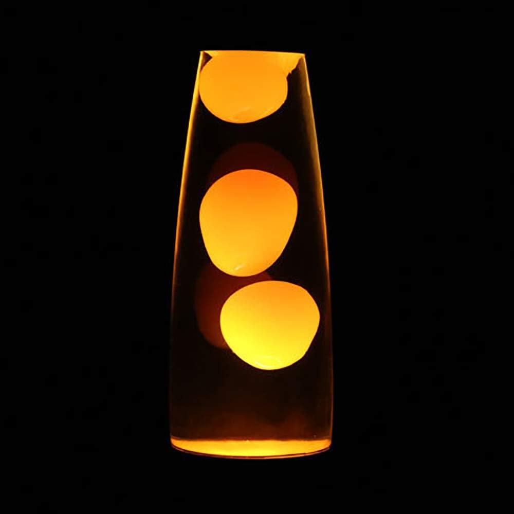 Urijk Nachtlicht Nachttischlampe Schlafzimmer Mini Vulkan Lavalampe Lavaleuchte Stimmungs-Lampe Dekoleuchte Deko-Licht