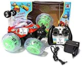 Shop & Shoppee Remote Controlled Cartoon Action Stunt Car (Multicolor)