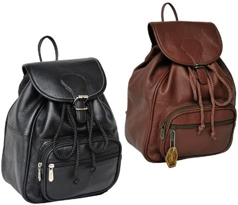 Ladies Leather Mini Backpack 1820-02