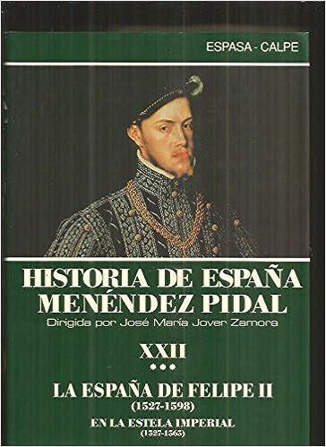 Historia de España tomo 22 vol.3. la España de Felipe II : auge y declive de un imperio: Amazon.es: Fernandez: Libros