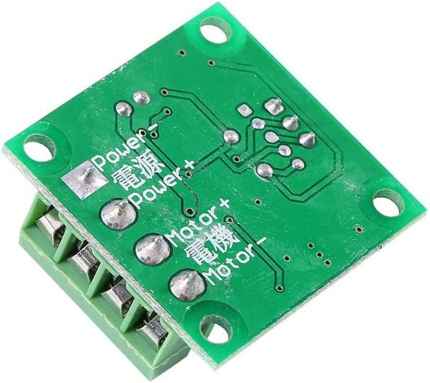 Akozon Low Voltage DC 1.8V to 15V 2A Mini PWM Motor Speed Controller Regulator Control Module