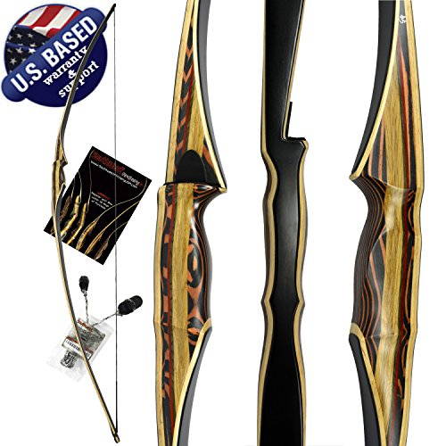 Southwest Archery Scorpion Traditional Hunting Long Bow - 68