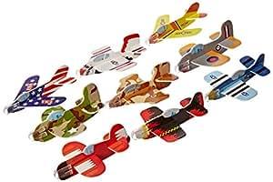 Rhode Island Novelty Foam Glider Assortment Vehicle (Pack of 72)
