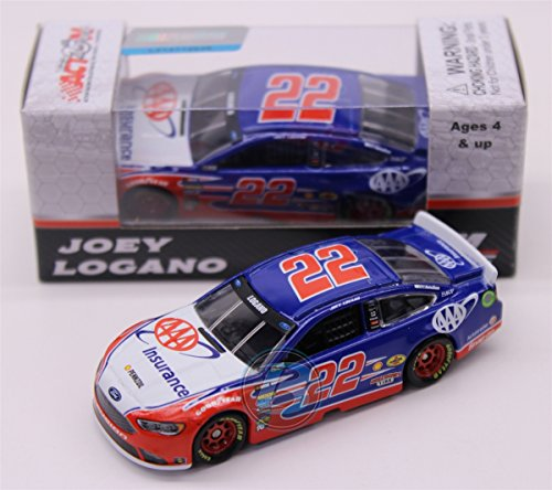 Lionel Racing Joey Logano # 22 AAA Insurance 2017 Ford Fusion 1:64 Scale ARC HT Official Diecast of  the NASCAR Cup Series.
