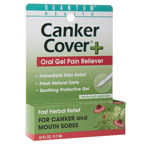 Quantum Health Herbal Canker Care + Oral Pain Reliever 0.33 oz(pack of 2)