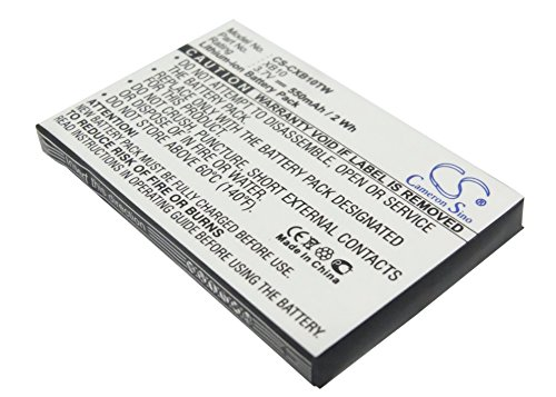 VINTRONS TM - 550mAh Battery For XACT COMMUNICATION Wristlinx x2x, XACT COMMUNICATION Wristlinx x2x