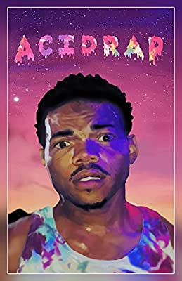 "A-ONE POSTERS Chance the Rapper - Acid Rap (Rolled) Poster, Matte Print 12"" by 18"" BY"