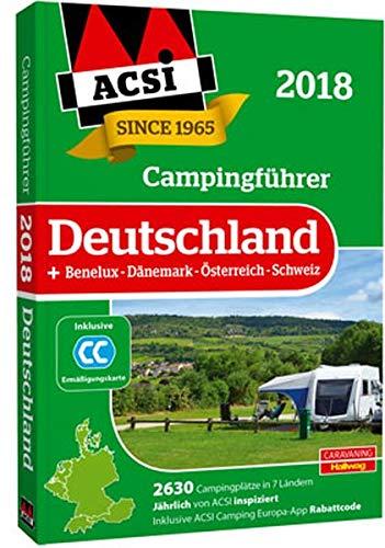 ACSI Campingführer Deutschland 2018: + Benelux-Dänemark-Österreich-Schweiz, 2630 Campingplätze in 7 Ländern (Hallwag Promobil) Taschenbuch – 5. Januar 2018 Kai Feyerabend 3905755866 Belgien Belgien / Hotelführer