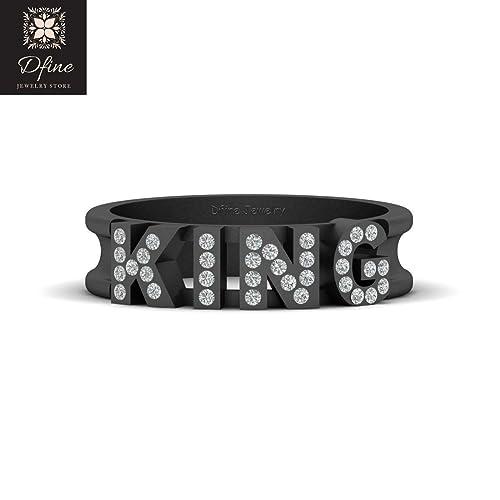 Amazon Com Emperor Ruler Royal King Wedding Band Diamond King Ring